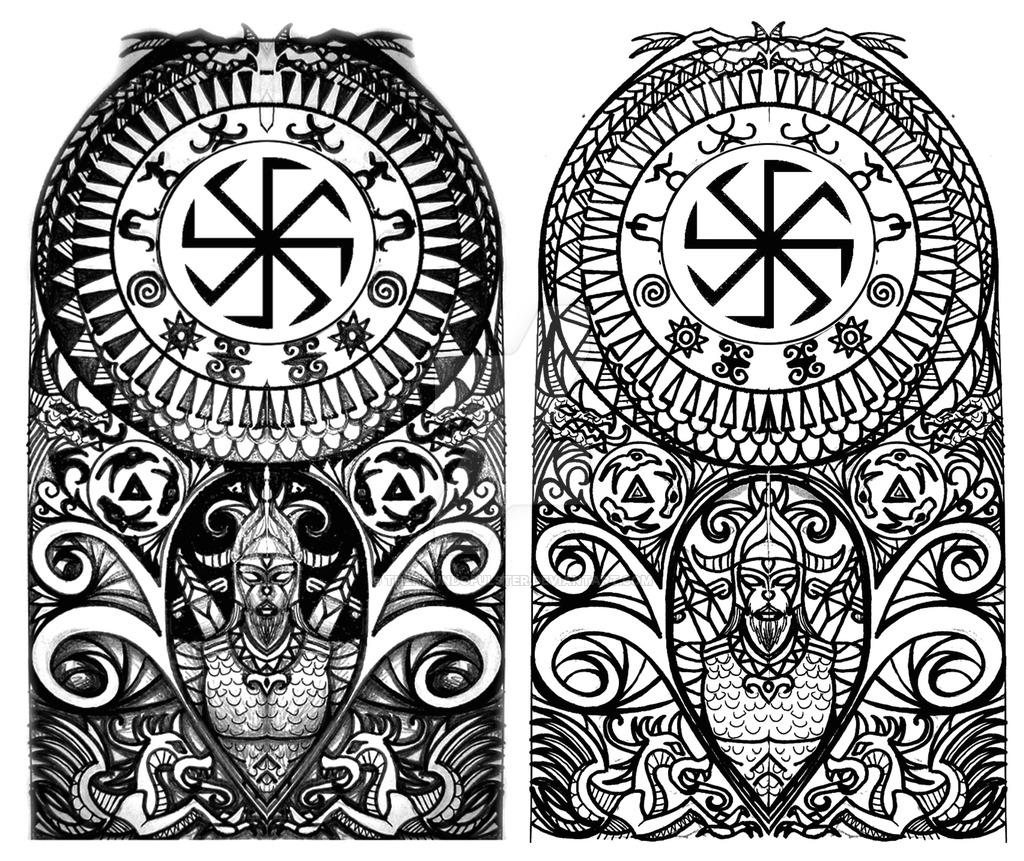 Lechickie Odrodzenie Tatuaż Jako Nośnik Energii Nie
