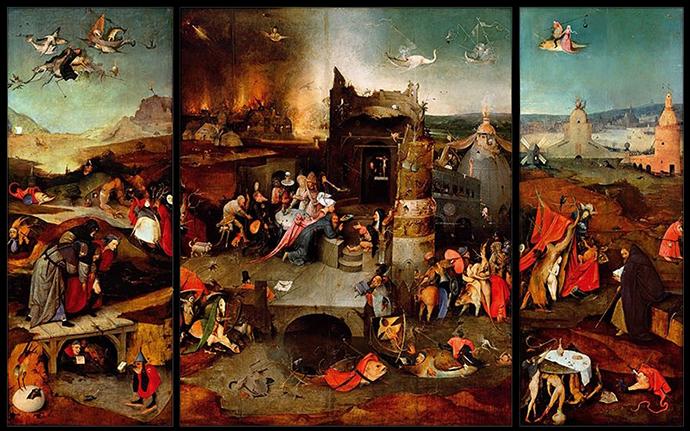 Kurzołapy od Hieronima Boscha