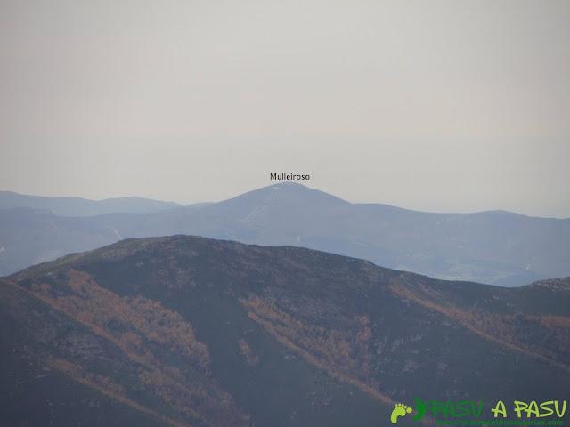 Vista del Mulleiroso desde el Pico Mocoso