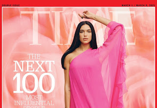 When Two INYIM Media Inspirations Collide: Kylie Minogue Praises Dua Lipa For Time's 'Next 100 Most Influential People'!