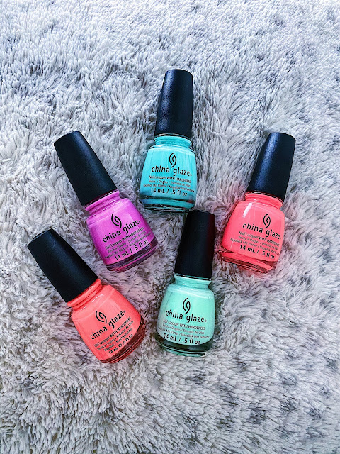 China Glaze Summer Nail Polishes