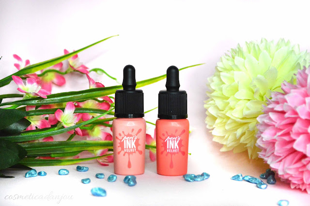 Peripera Peri's Ink Velvet #12 Pure Peach & #13 Charming Coral Review