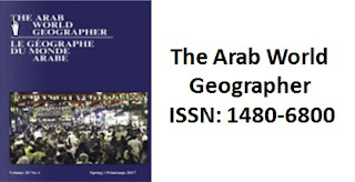 The Arab World Geographer - AWG