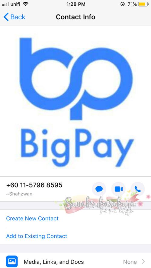 Hati-hati Dengan Scammer BigPay! Jangan Bagi OTP!