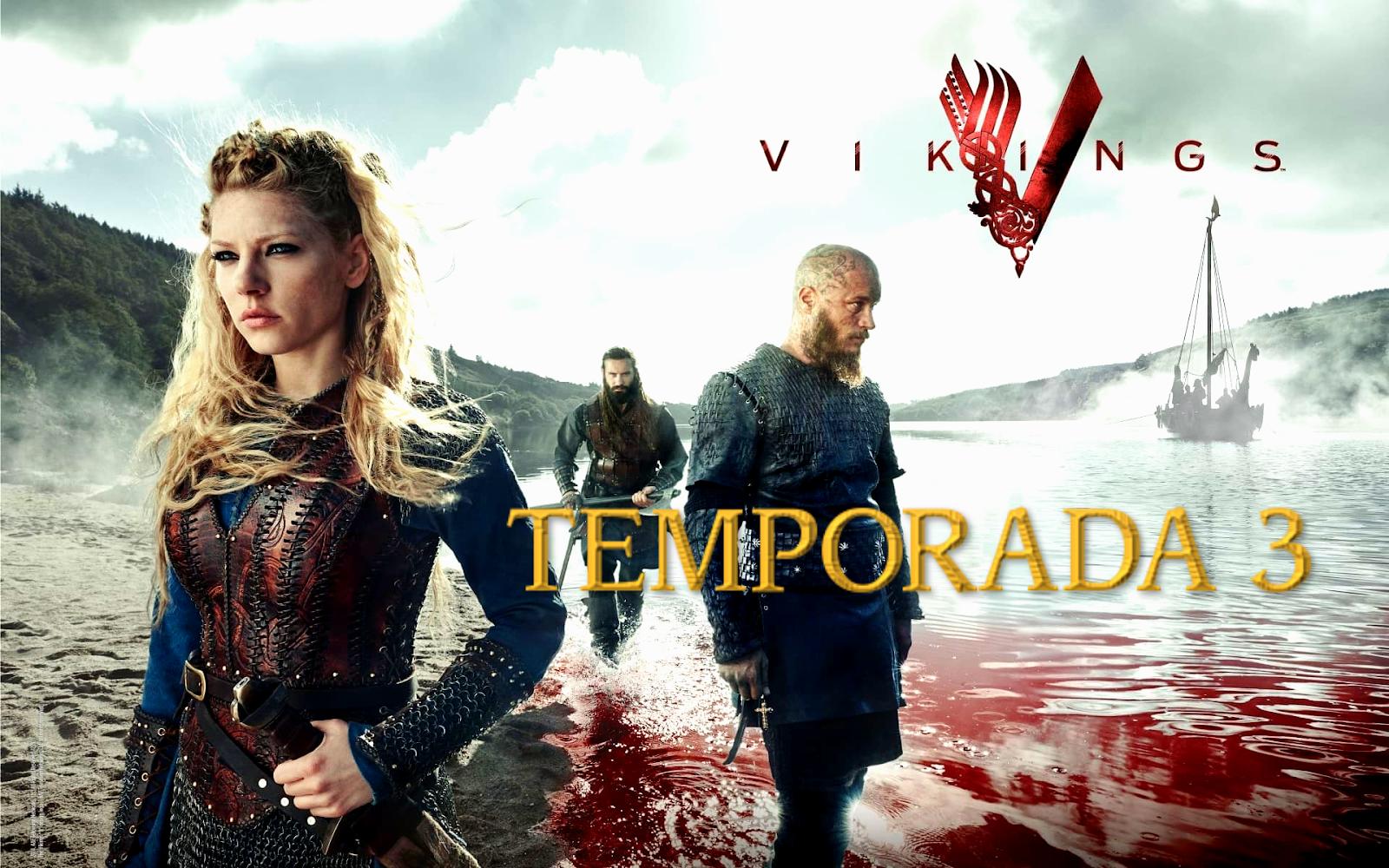 Vikingos (TEMPORADA 3) HD 1080P LATINO/INGLES