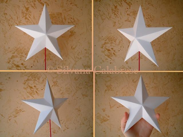 Origami. Stella in rilievo