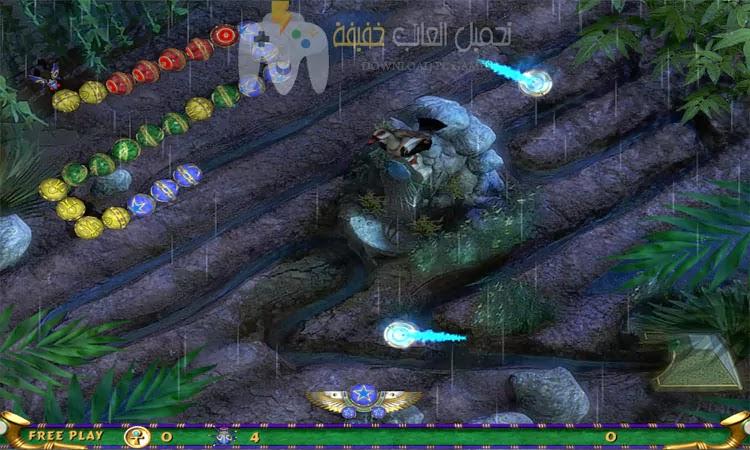 تحميل لعبة زوما الأقصر Luxor 3 مجانا بحجم صغير