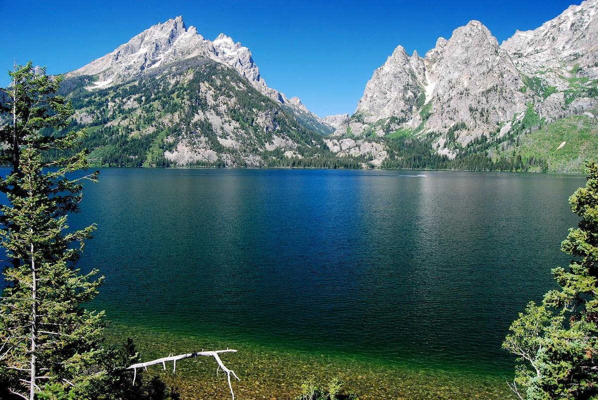 le lac Jenny Grand Teton