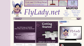 page d'accueil flylady