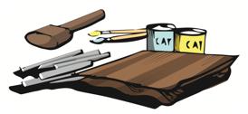 Membuat Tempat Tisu, Gantungan Kunci, dan Topeng dari Bahan Lunak