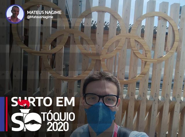 Surto em tóquio vila olímpica