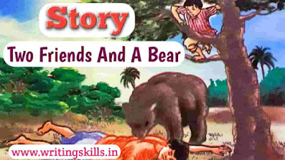 Story Two Friends And A Bear, two friends and a bear