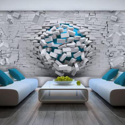 Gambar Mural 3D