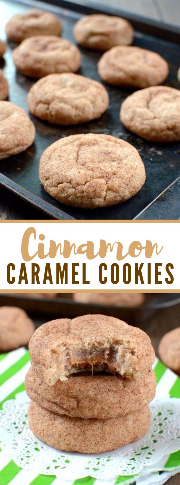 Cinnamon Caramel Cookies #desserts #sweets