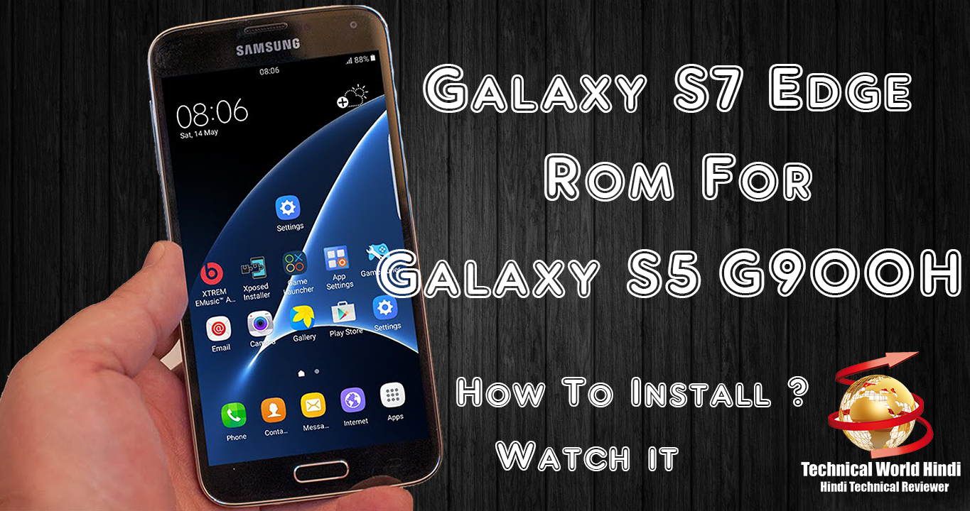 How To Install Galaxy S7 Edge Rom on Galaxy S5 G900H - <ata:blog