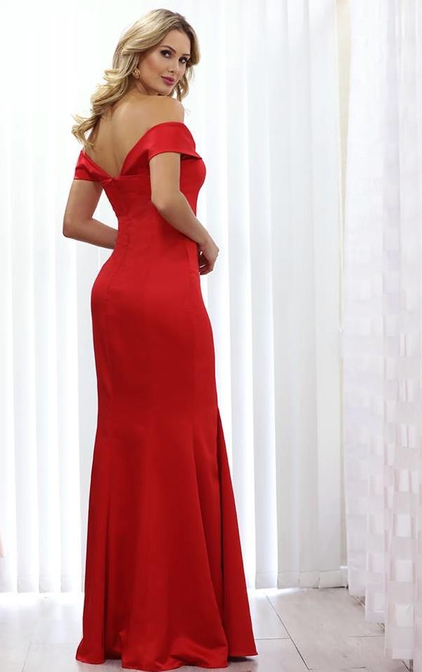 vestido vermelho para madrinha