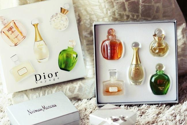 Christian Dior voyage perfume set