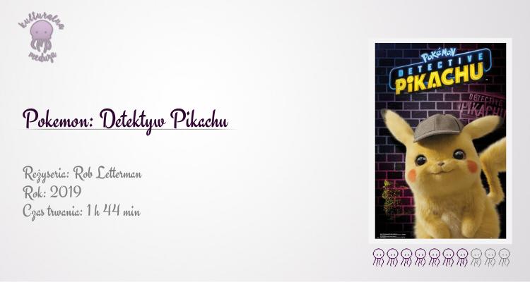 pokemon detektyw pikachu plakat