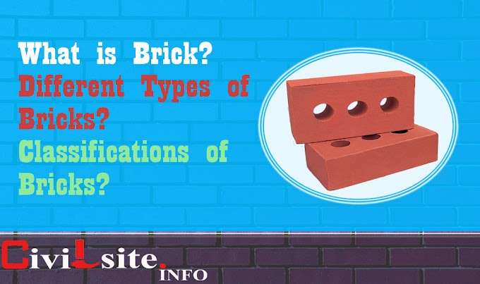 Different Types of Bricks used in Construction