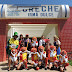 Integrantes do Serviço de Convivência e Fortalecimento de Vínculos visitam as escolas municipais com a caravana da alegria