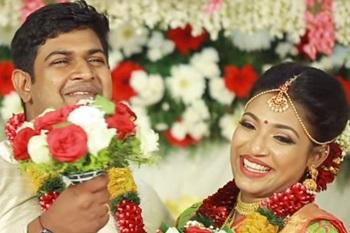 Kerala traditional wedding I Sneha & Girish