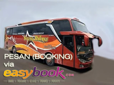 Booking Tiket Bus Sugeng Rahayu via Easybook