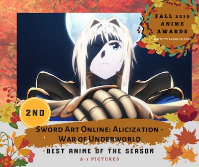 Sword Art Online: Alicization – War of the Underworld –