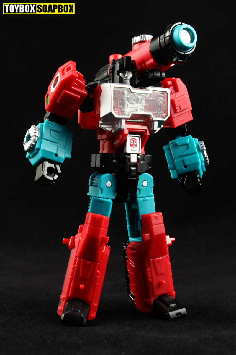 And that's probably the best thing about Titans Returns Perceptor's ...