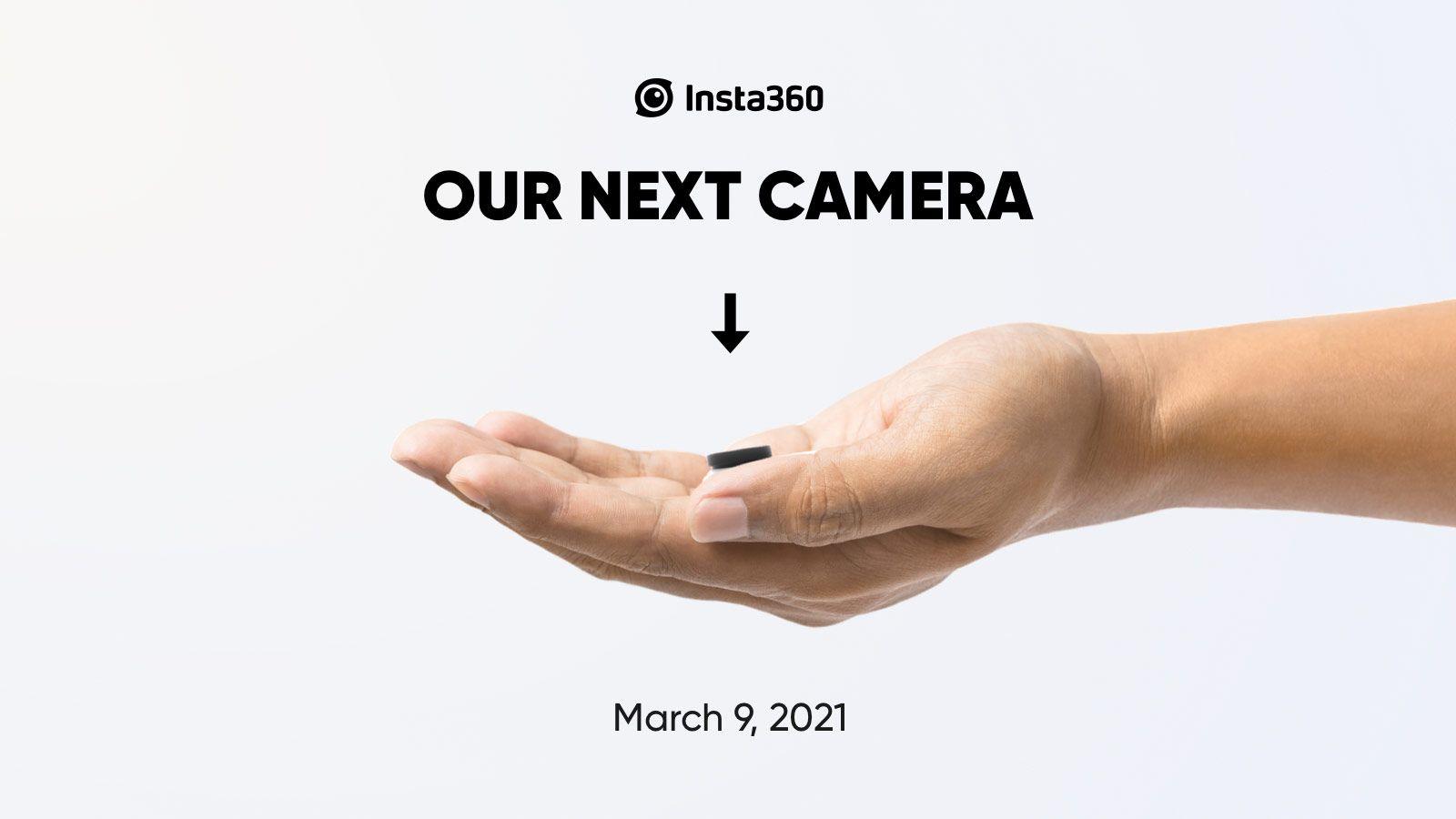 Рекламный баннер новой камеры Insta360
