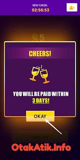 pembayaran 3 hari kerja