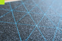 Griptape: STAR-SCOOTER® Premium Freestyle Stuntscooter in stabiler Leichtbauweise ★ Modell 2016 ★ 110mm Semi Professional Edition ★ Weiß (matt) & Blau