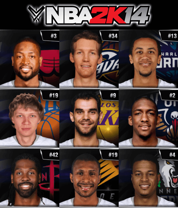 NBA 2k14 Ultimate Roster Update v7.5 : July 6th, 2016 - Free Agency Trades