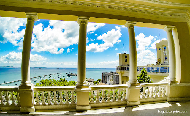 Varanda do Palácio Rio Branco, Salvador