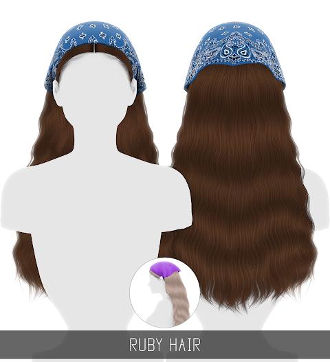 RUBY HAIR (PATREON)