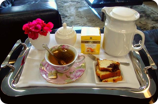 Inspiração para servir o Chá na Bandeja