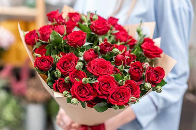 Toko Bunga Mawar Valentine di Tambora, Jakarta Barat