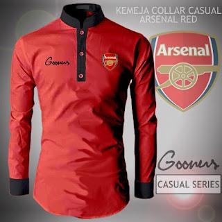 Kemeja Casual Arsenal Murah