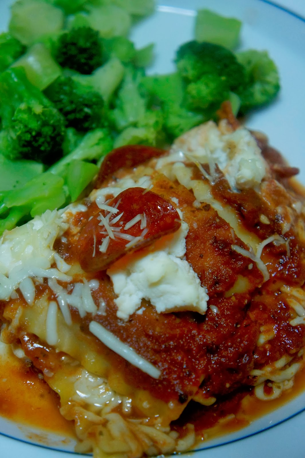 Savory Sweet and Satisfying: Pepperoni Lasagna