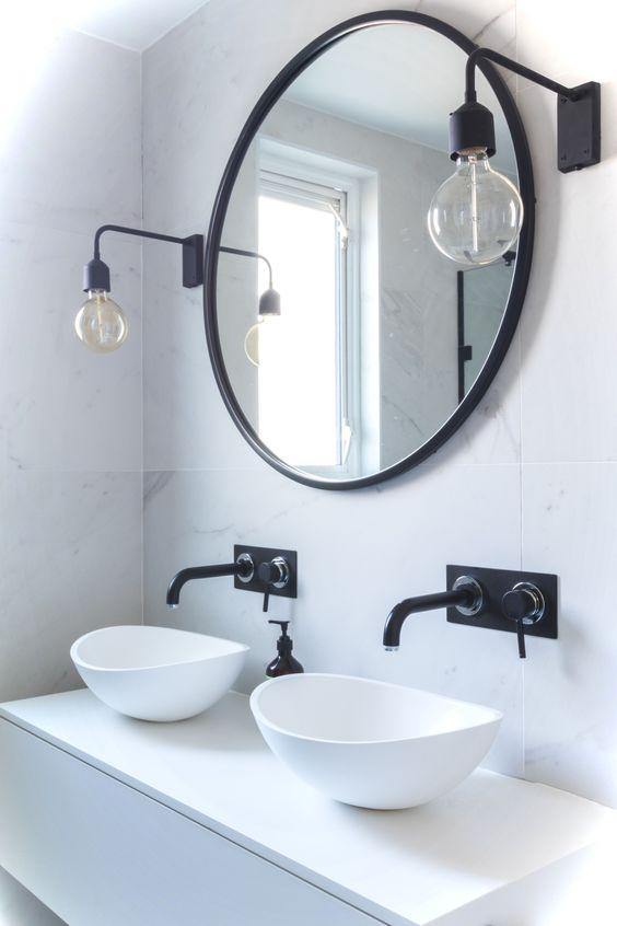Genius Small Bathroom Makeover Idea