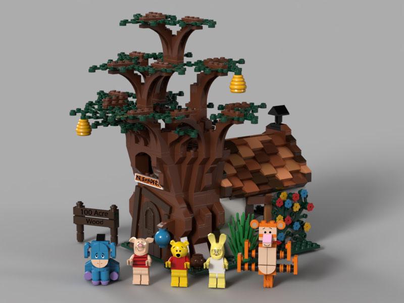 LEGOくまのプーさん:Winnie the Pooh