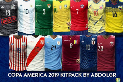 Copa America 2019 Kitpack - PES 2013