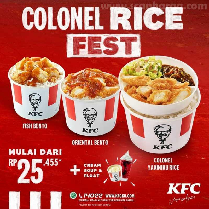 KFC Colonel Rice Fest
