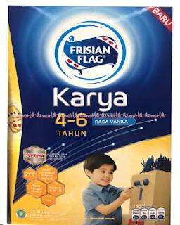 Varian Susu Frisian Flag untuk Anak Usia 4-6 Tahun