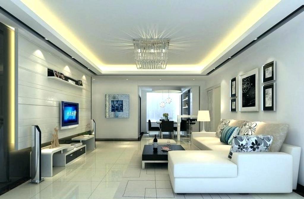 12 Desain Plafon untuk Ruang Tamu Kecil Rancangan Desain