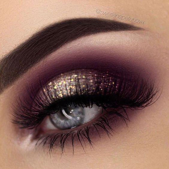 Se você ama maquiagem com brilho, vai enlouquecer com essas makes incríveis com muito glitter. Para te deixar linda e maravilhosa, pronta para arrasar.