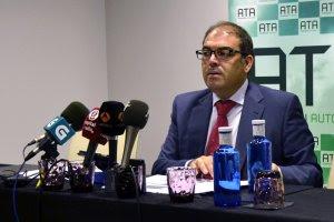 Lorenzo Amor, presidente de ATA. EFE/José Carlos Pedrouzo
