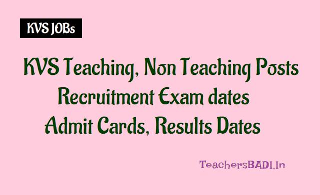 kvs teaching non teaching posts 2018,kendriya vidyalayas,principals,prt,tgt,pgt recruitment,application form,interview date,last date,how to apply,selection list