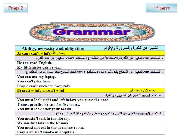 تحميل مذكرة شرح منهج اللغة الانجليزية للصف الثاني الاعدادي الترم الاول 2020