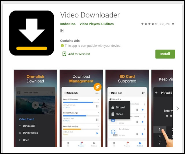 aplikasi video downloader app