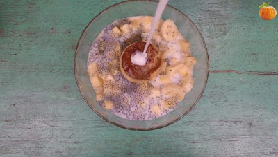 Hướng dẫn mix Sữa chua carame thập cẩm tại nhà